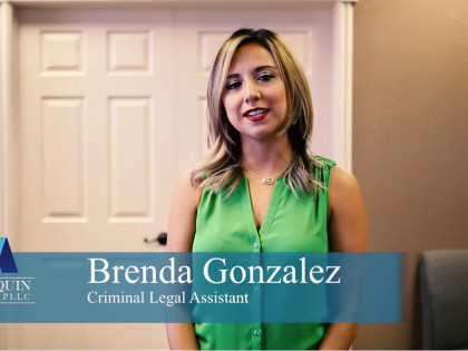 Brenda Gonzalez Legal AssistantSpecialties: Criminal Defense Law,Family Law, Civil Law  4 Tips For When You're In A Traffic Stop Brenda Gonzalez MArroquin LAw Firm 1 420x315
